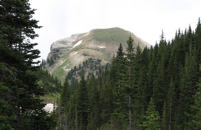 Elephanhead Mountain stands tall