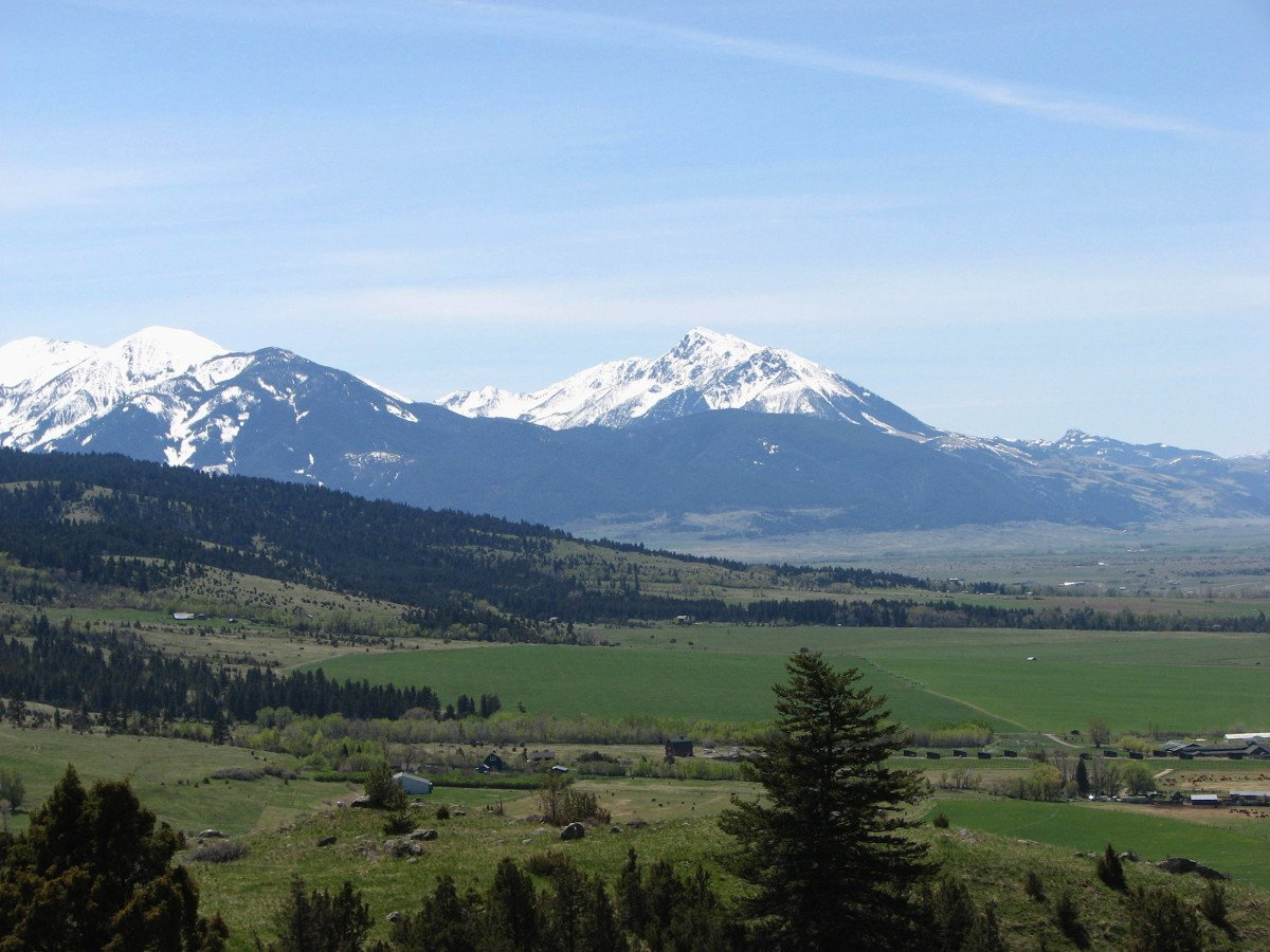 Emigrant Mountain as seen on the George Lake Trail