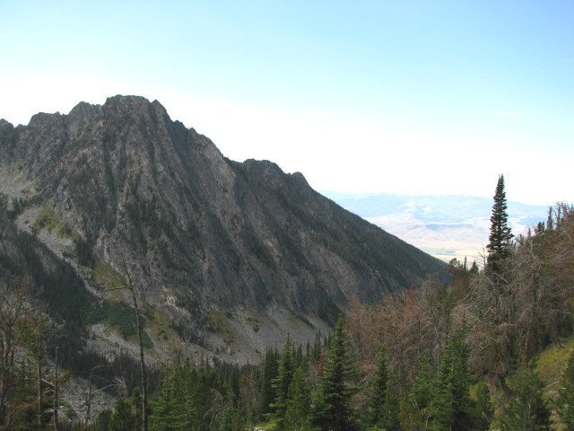 The view from high on the Deep Creek trail
