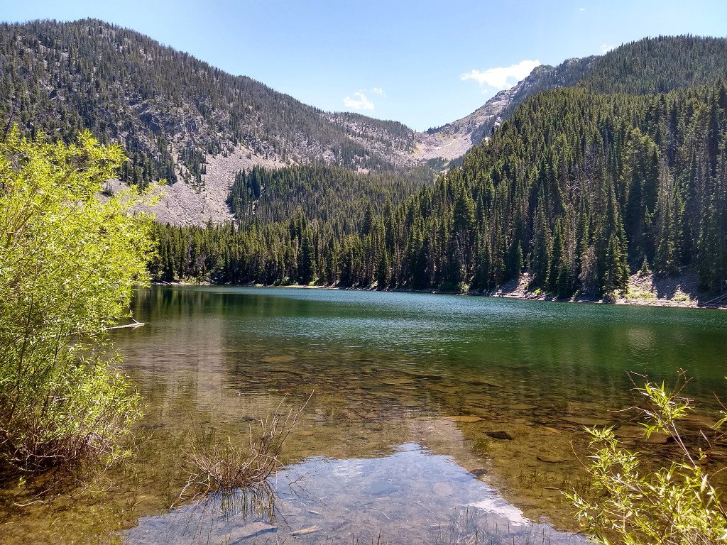 George Lake in Paradise Valley