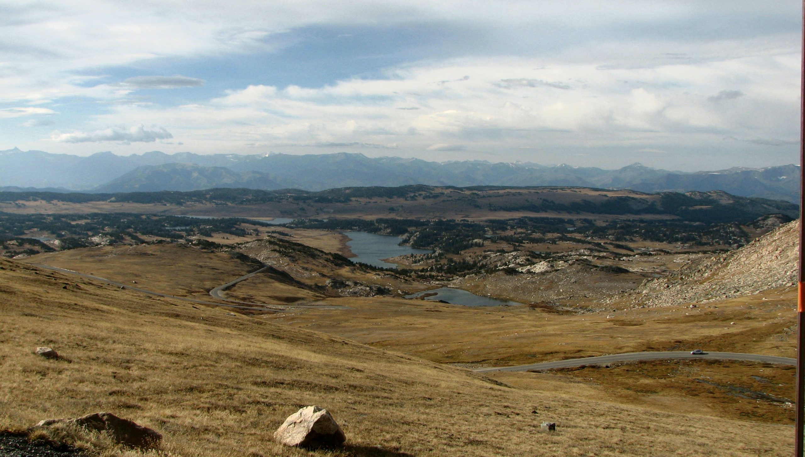 Scenic Vista on Beartooth Highway