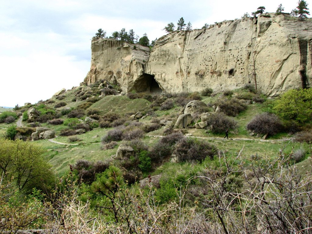 Photo of Ghost Cave at Pictograph Cave State Park