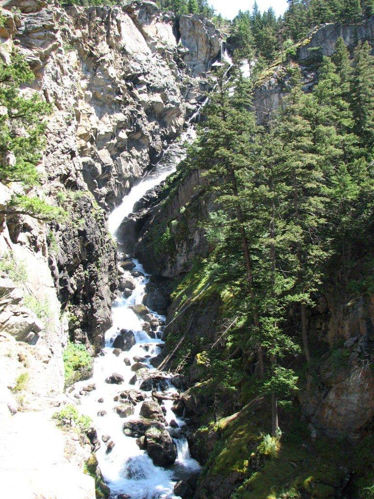 Woodbine Falls from trailll